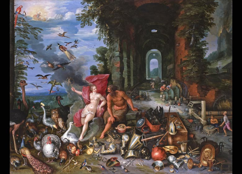 Jan Breughel der Jüngere 1601 - 1678 Antwerpen Hendrik van Balen der Jüngere 1623 - 1661 Antwerpen