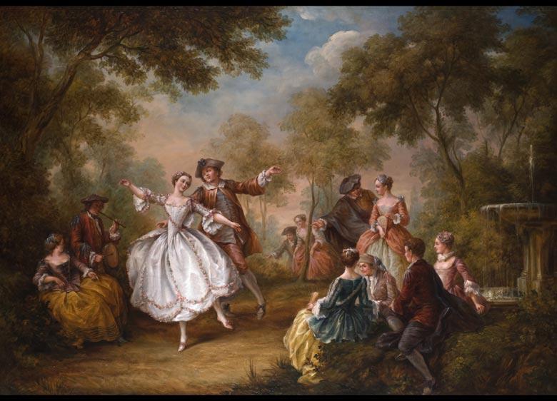Französischer Maler in der Nachfolge Jean-Baptiste Pater, 1695 - 1735 Paris