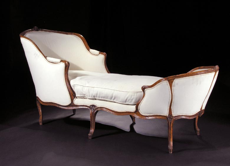 Französische Chaiselongue - Hampel Fine Art Auctions on chaise sofa sleeper, chaise recliner chair, chaise furniture,
