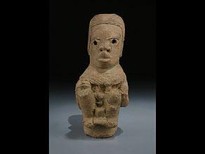 Detail images:  Nok-Figur in Terrakotta