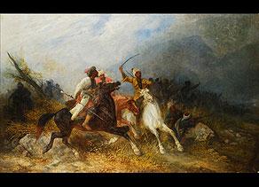 Detail images:  Josef von Brandt, 1841 - 1915