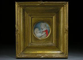 Detailabbildung:  Miniaturist der Zeit um 1800