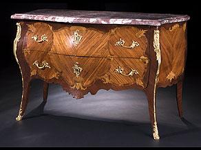 Detail images:  Französische Louis XV Kommode des 18. Jahrhunderts