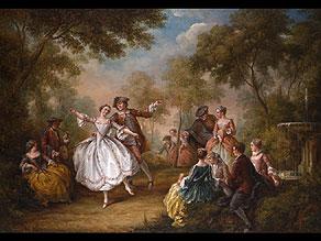Detail images:  Französischer Maler in der Nachfolge Jean-Baptiste Pater, 1695 - 1735 Paris