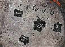 Detail images: Englische Silber-Kaffeekanne