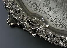 Detail images: Londoner Silbertablett