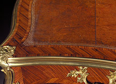 Detail images: Kleines französisches Bureau-Plat