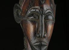 Detail images: Männliche Ahnenfigur