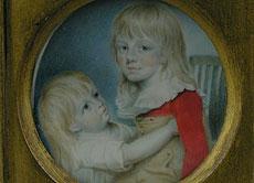 Detail images: Miniaturist der Zeit um 1800