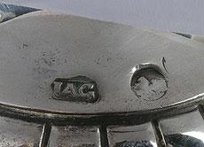 Detail images: Berliner Zuckerstreuer aus Silber
