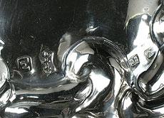 Detailabbildung: Paar Danziger Wandblaker