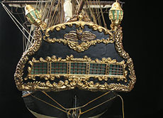 Detail images: Venezianische Kaperfregatte, um 1700