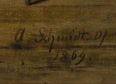 Detail images: Adolf Schmidt 1804 - 1864 Berlin