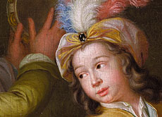 Detail images: Hieronymus van der My (Mij) 1687 - 1761 Leiden
