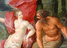 Detailabbildung: Jan Breughel der Jüngere 1601 - 1678 Antwerpen Hendrik van Balen der Jüngere 1623 - 1661 Antwerpen