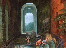 Detail images: Jan Breughel der Jüngere 1601 - 1678 Antwerpen Hendrik van Balen der Jüngere 1623 - 1661 Antwerpen