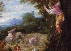 Detailabbildung: David Teniers der Jüngere 1610 Antwerpen - 1690 Brüssel