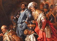 Detail images: David Teniers II der Jüngere 1610 Antwerpen - 1690 Brüssel