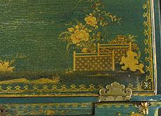 Detailabbildung: Chinoiserie-Damensekretär