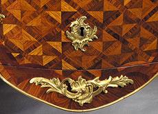 Detail images: Kommodenpaar, um 1740