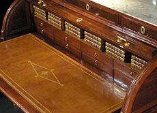 Detail images: Großes Zylinderbureau des Directoire
