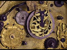 Detail images: WAAGERECHTE ACHTECKIGE TISCHUHR SIGNIERT JEREMIAS PFAFF (II) AUGUSTA