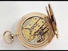 Detail images: HERRENTASCHENUHR 14 KT GOLD, FABRIKAT J. ASSMANN GLASHÜTTE