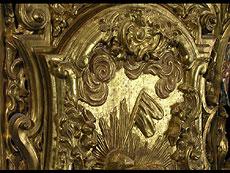 Detail images: Großer barocker Tabernakelschrein