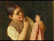 Detail images: Wilhelm Marc 1839 - 1907, Vater von Franz Marc, zug.