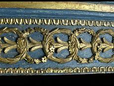 Detail images: Großer italienischer Demi-lune-Wandkonsoltisch