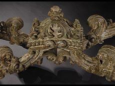Detailabbildung: Großer italienischer Wandkonsoltisch der Zeit um 1700