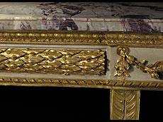 Detail images: Bedeutendes Paar Konsolen aus einem italienischen Palazzo