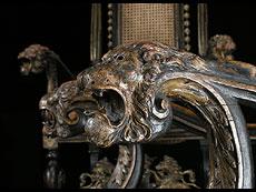 Detail images: Satz von 6 englischen Stühlen