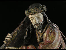 Detail images: Christus auf dem Kreuzweg