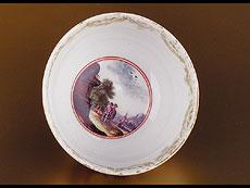 Detail images: Meissener Koppchen mit Untertasse