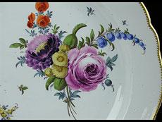 Detail images: Große Meißener Platte