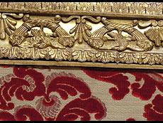 Detail images: Großer Salon- oder Dielenspiegel