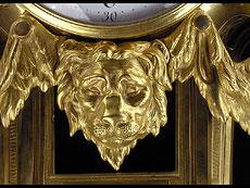 Detail images: KARTELLUHR LOUIS XVI-STIL