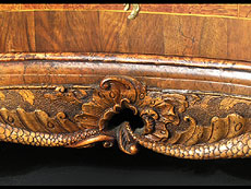 Detailabbildung: Mainfränkische Barockkommode