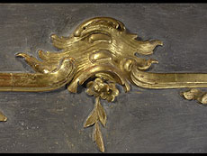 Detail images: Spiegel-Trumeau nach dem Entwurf von François Cuvillée d.Ä. (1695 - 1768)