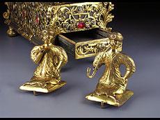 Detail images: Prächtig gearbeitetes Augsburger Schreibzeug um 1720