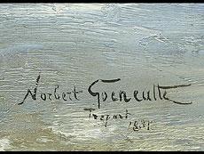 Detail images: Norbert Goeneutte 1854 Paris - 1894 Auvers-sur-Oise