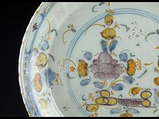 Detail images: Italienischer Fayence-Teller