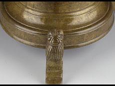 Detail images: Scheibenleuchter in Bronze