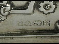 Detail images: Zuckerdose in Silber