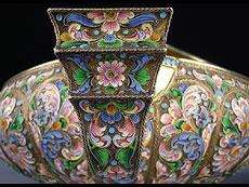 Detail images: Moskauer Kovsch-Set