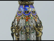 Detail images: Parfumflakon in Bergkristall