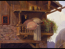 Detail images: Heinrich Bürkel 1802 Pirmasens - 1869 München