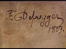 Detail images: Franz von Defregger 1835 - 1921 München