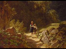 Detail images: Carl Spitzweg 1808 - 1885 München
